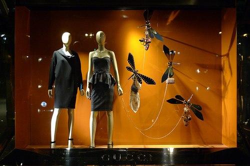 A nova vitrine da Gucci foto_jornal das vitrines